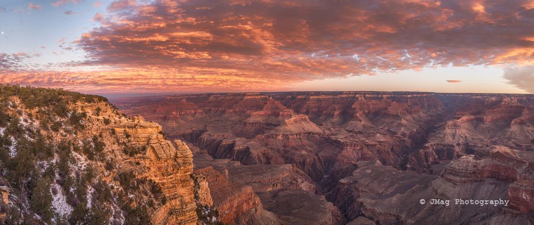 December 19, 2013 - Sunrise Grand Canyon